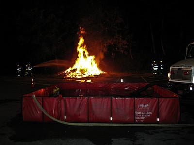 9-22-09 Live Burn Drill