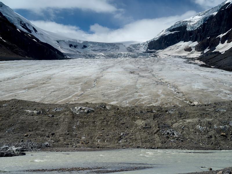 Athabasca Glacier, Icefields Parkway, Jasper, Alberta, Canada