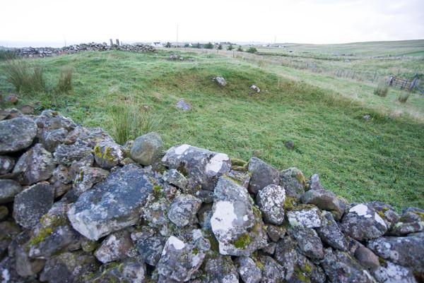 2013 09 06 3521 Kilvaxter Iron Age Farmstead Souterrrain