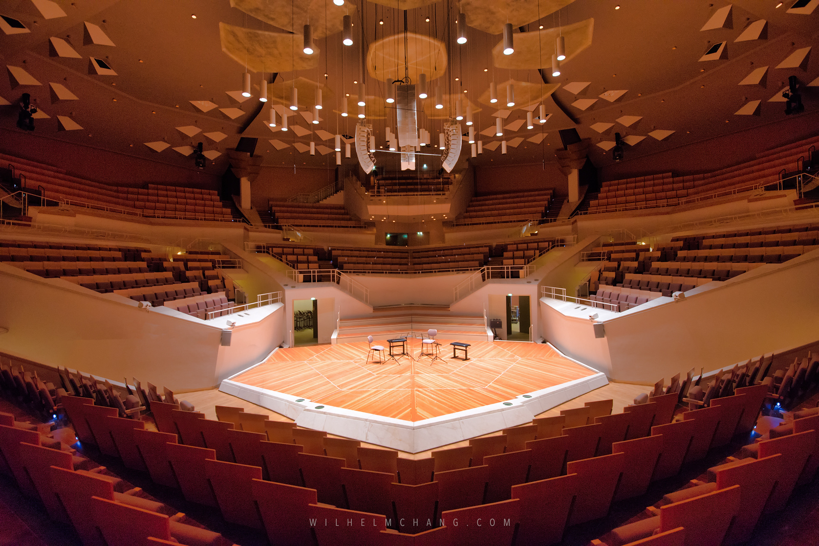 到柏林攝影 柏林愛樂演奏廳 Berlin Philharmonic Concert Hall by Wilhelm Chang