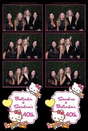 Sandra and Belinda's 40th