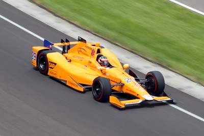 Indy 500 Practice - Indianapolis Motor Speedway - 21 May '17