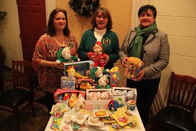 Toys For Tots Donation, Sorority, La Dolce Casa, Tamaqua (11-28-2012)