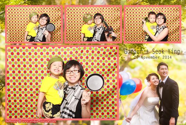 Gordon + Seok Ying Photos Booth