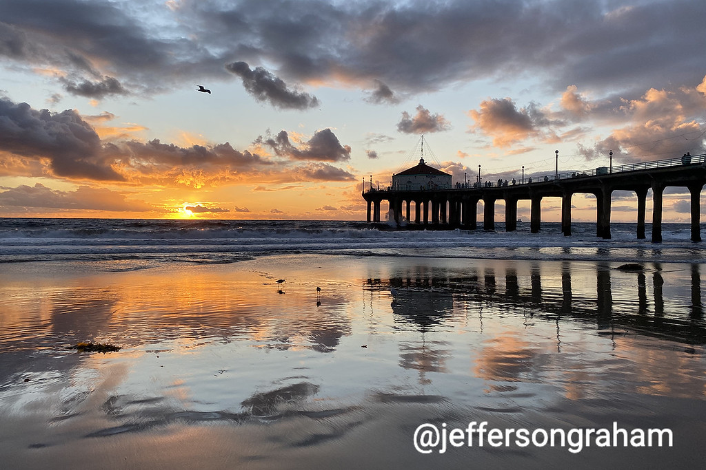 How to shoot a great sunset in Manhattan Beach