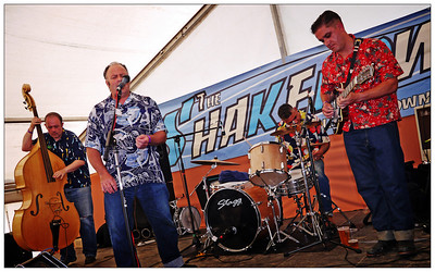 Shakedown 2012 - The Frantix on Saturday afternoon