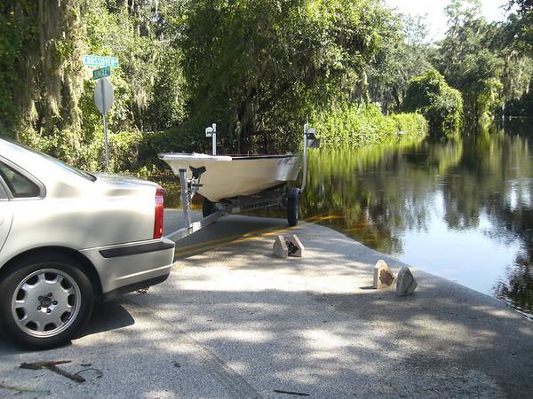 Hurricane Fay lake Harney