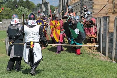 Tuesday - Crusaders vs Saracens
