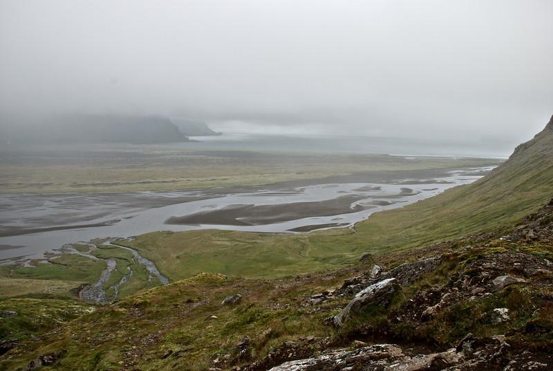 Hornvík. Hafnarós og Kýrvað.