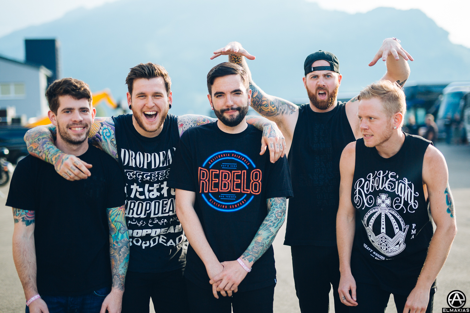A Day To Remember at Greenfield Festival in Interlaken, Switzerland