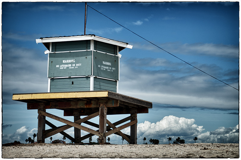 Off Season Life Guard Station: Seal Beach, California