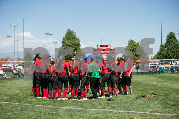 2017 3A Utah Softball Championship Game Grantsville vs Bear River