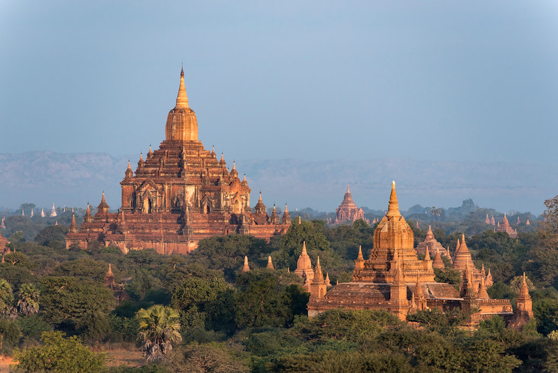 Htilominlo Temple, Bagan, Burma
