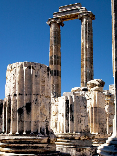 Temple ruins around Izmir, Turkey