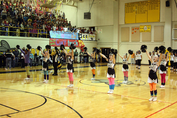 CHS Varsity Cheer Oct 2, 2009