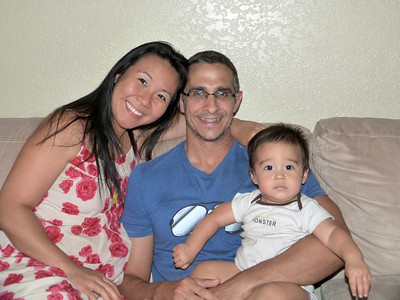 MWH--Visit with Chisa and Conor 6-19-14