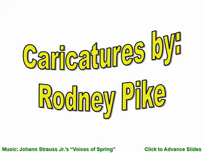 Caricatures by Sydney Pike