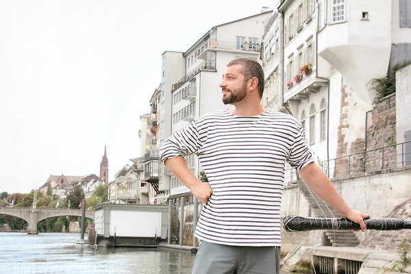 Alex - River Boat Ferryman, Basel, Switzerland