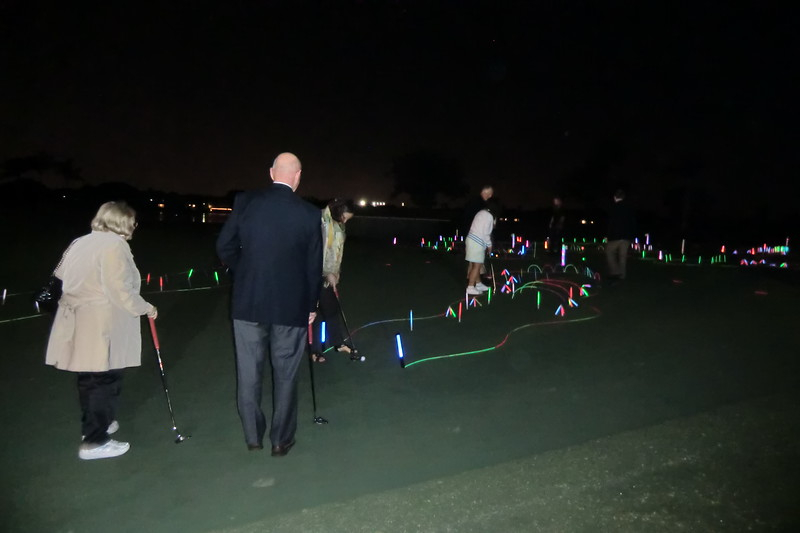 Welcome Reception & Night Golf