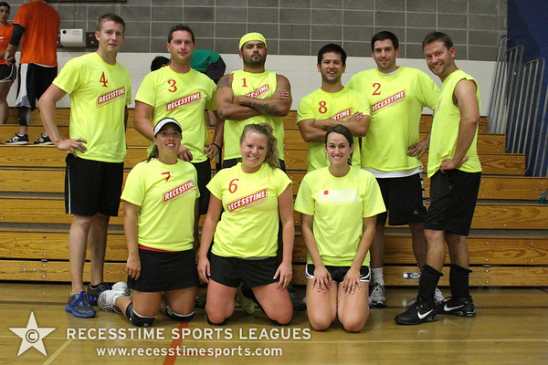 Fall Dodgeball Thursday Action/Teams