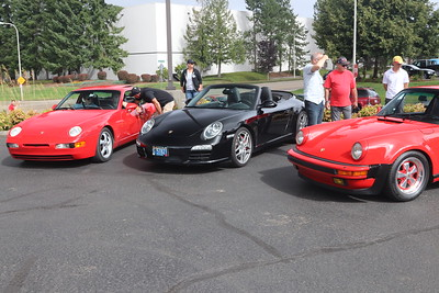 Cars And Coffee - Porsche day