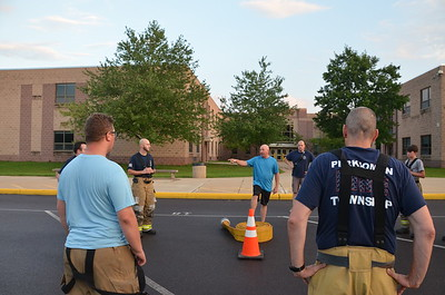 8.30.2021 SCBA and Humat Training at PVMS East