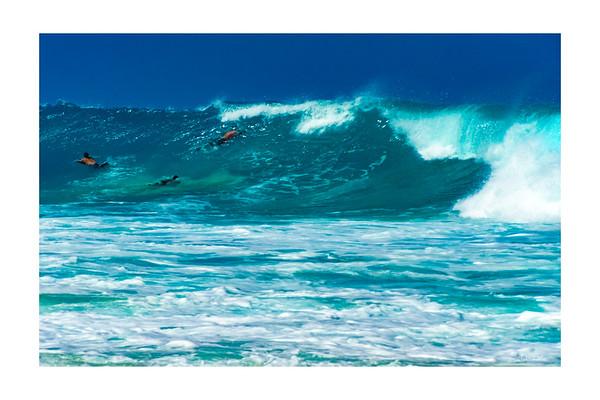 Kua Bay Wave Riding Big Island Hawaii