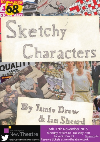 Sketchy Characters poster