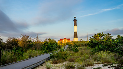 Fire Island Light Sunrise Sep 2018