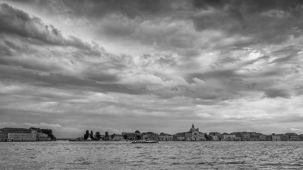 Venise  en Noir & Blanc - Focale 35 mm
