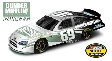 The Office Dunder Mifflin NASCAR