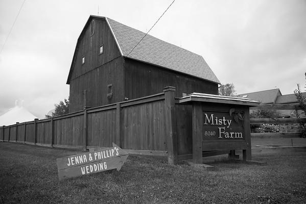 Misty Farm Events Wedding Photography Ann Arbor | Jenna + Phillip