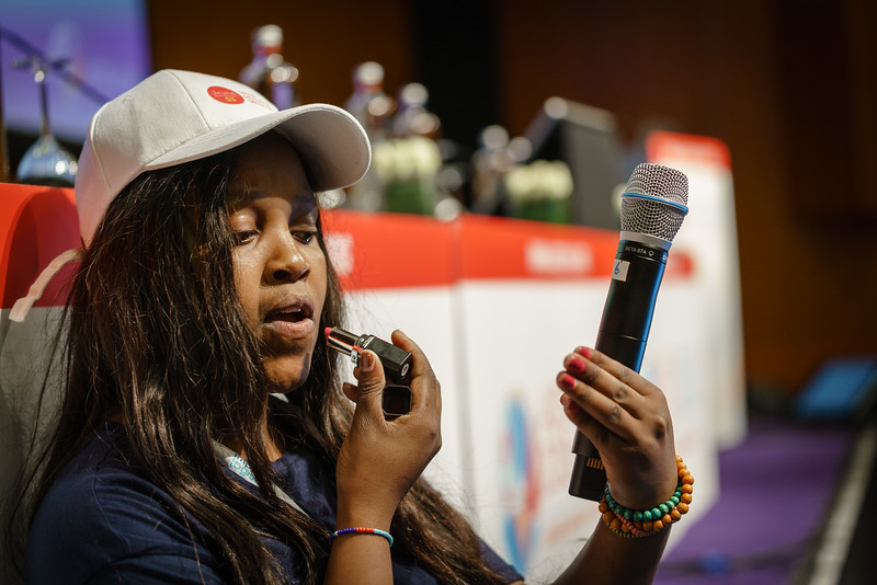 22nd International AIDS Conference (AIDS 2018) Amsterdam, Netherlands.   Copyright: Matthijs Immink/IAS  Young people at the centre: Community mobilization for youth-friendly HIV services  On the photo: Role Play