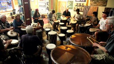 Porcello Gallery Drum Circle