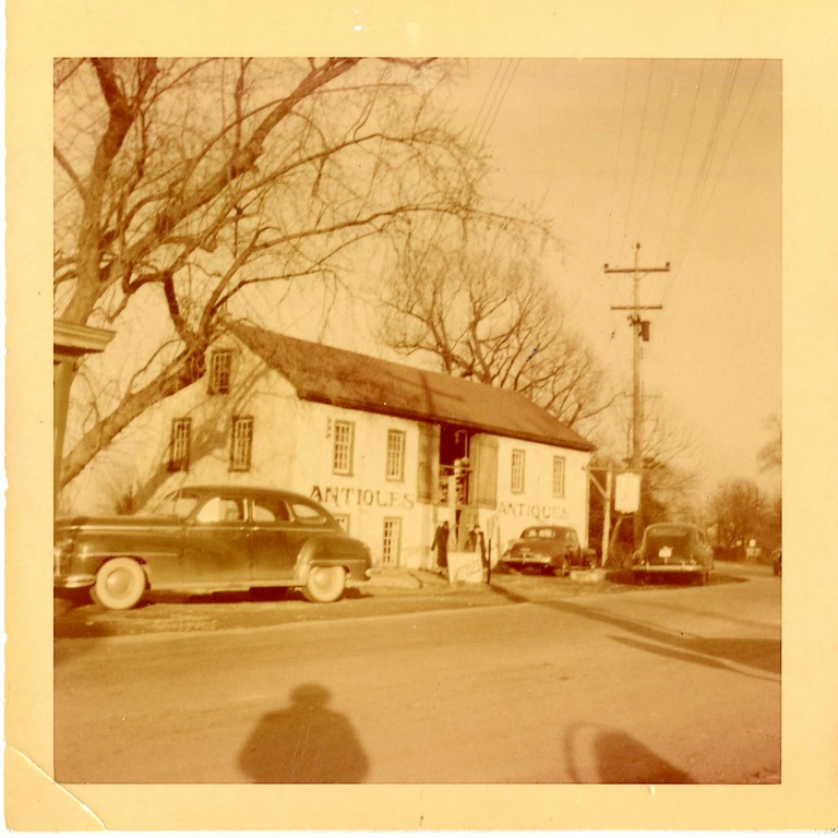 . This undated photo from the Historical Society of Montgomery County shows Wheelwright , which was a wheelwright shop. It was demolished in 1951 by the highway department.