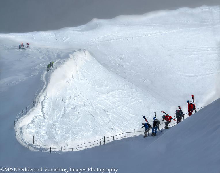 On The Edge: Vallee Blanche Glacier