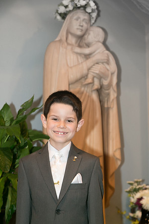 Jacob's First Holy Communion