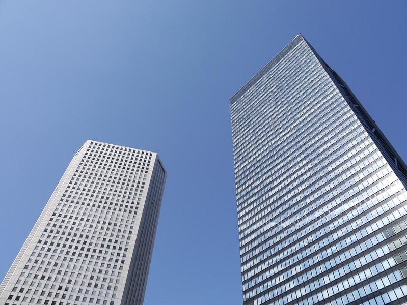 Shinjuku Sumitomo  and Shinjuku Mitsui Buildings