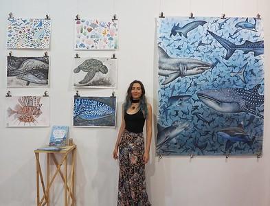 Francesca Page Marine Conservation Illustrator