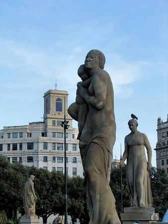 Barcelona, Spain: Las Ramblas