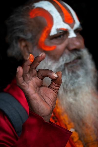 DescriptionSadhu, also spelled saddhu, is a religious ascetic, mendicant or any holy person in Hinduism and Jainism who has renounced the worldly life. They are sometimes alternatively referred to as jogi, sannyasi or vairagi. It literally means one who practises a ″sadhana″ or keenly follows a path of spiritual discipline.   Kathmandu, Nepal, 2019