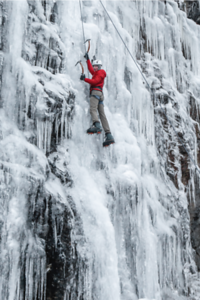 Mountaineering: Ice Climbing
