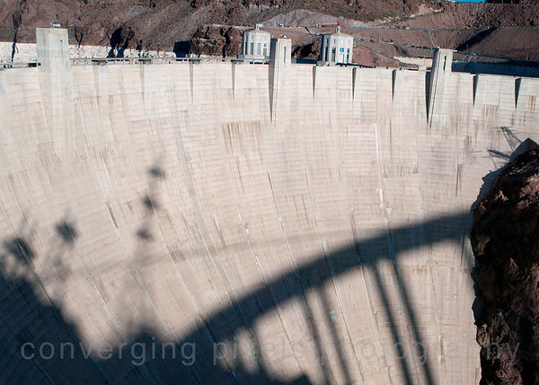 Hoover Dam:  Construction between 1931 to 1936 during the Great Depression. Hoover Dam