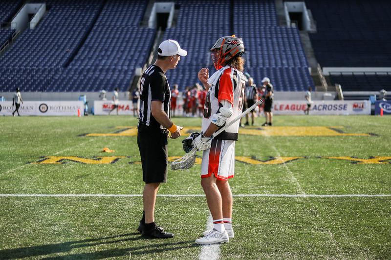 7/19/2020; Annapolis, MD, USA; Bayhawks vs. Lizards - at Navy Marine Corps Memorial Stadium. Mandatory Photography Credit: Anne Evans