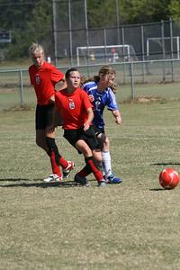 Athena U13 fall 10-27-2007