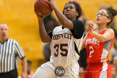 1-28-16 Minneapolis Roosevelt v Minneapolis Patrick Henry Girls Basketball