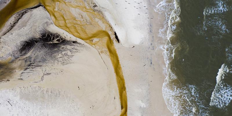 Cape San Blas Beach Aerial