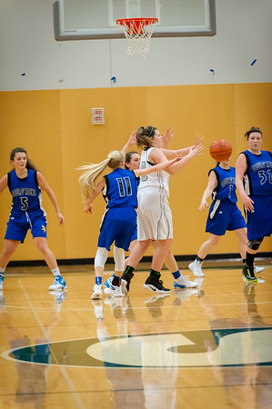 Skyline Girls JV vs CDA, 12-2-16