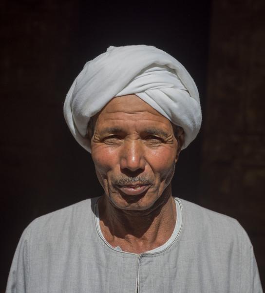 Ayudante de obras del Templo de Karnak