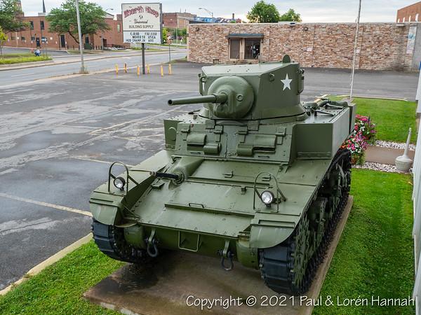 American Legion Post 24 - Rome, NY - M3A1